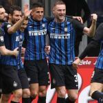 Inter de Milán, celebrando un gol / twitter