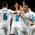 Jugadores celebran un gol / Real Madrid