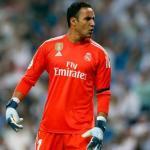 Keylor Navas jugando un partido con el Madrid / Real Madrid