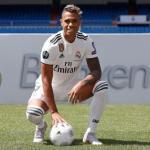 Mariano en su presentación / Real Madrid