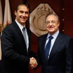 Lopetegui y Florentino (Real Madrid)