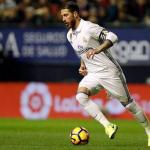 Ramos en un partido con el Real Madrid / Real Madrid