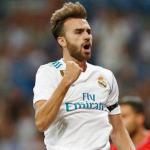 Borja Mayoral celebra un gol / Real Madrid