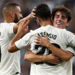 Jugadores del Real Madrid celebran un gol / Real Madrid