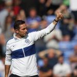 Lampard durante un partido entrenando al Chelsea. / talksport.com