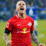 """Angeliño, ¿quién dijo que era un lateral? """"Foto: Bundesliga"""""""