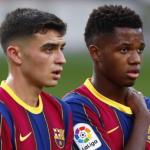 """Pedri y Ansu Fati, los dos jugadores del mundo que más suben su valor de mercado """"Foto: El Peiódico"""""""