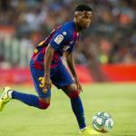 Ansu Fati en un partido con el Barcelona. / fcbarcelona.es