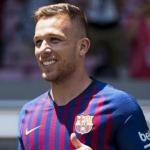 Arthur. Foto: FC Barcelona.