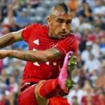 Arturo Vidal con la camiseta del Bayern / bundesliga.com