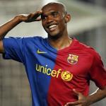 Eto'o en un partido con el Barcelona. / kurdistan24.net