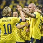 Así juega Suecia, primer rival de España en la Eurocopa