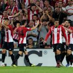 Athletic de Bilbao, celebrando un gol / twitter
