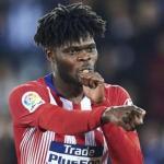 Thomas en un partido con el Atlético. / depor.com