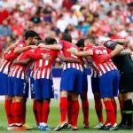 Atlético de Madrid, antes de un partido / twitter