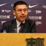 Bartomeu en rueda de prensa / Barça