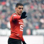 Ben Arfa en un partido con el Rennes. / transfermarkt.es