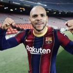 El Barcelona se frota las manos con Martin Braithwaite