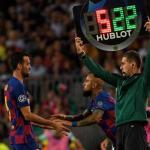 Busquets pierde jerarquía en el Barça. Foto: AFP