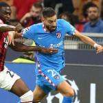 Simeone corre el peligro de cargarse a Yannick Carrasco. Foto: Calciomercato