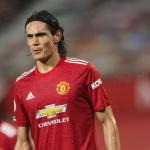 Edinson Cavani, desaparecido en el Manchester United