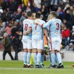 Celta, celebrando un gol al Barcelona / twitter