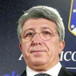 Enrique Cerezo, presidente del Atlético / Atlético de Madrid.