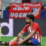 Diego Costa lesionado en un partido. / cadenaser.com
