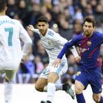 Madrid y Barcelona, en el Clásico de 2018 / twitter
