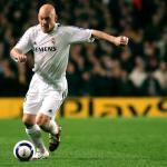 Gravesen en un partido con el Real Madrid. / cadenaser.com
