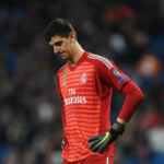 """Courtois podría perderse la vuelta de Champions frente al City. Foto: Getty Images"""