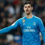 Courtois en un partido con el Real Madrid / Real Madrid