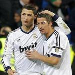 Cristiano Ronaldo y Fabio Coentrao/lainformacion.com