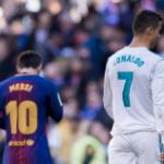 """""""Los tres jugadores que han compartido equipo con Cristiano Ronaldo y Messi. Foto: Getty Images"""""""