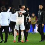 Rashford, después del partido ante el PSG (Manchester United)