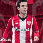 El cartel de despedida a Susaeta (Athletic Club)