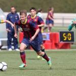 El FC Barcelona vuelve a llamar a la puerta de Dani Olmo / FC Barcelona