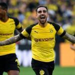 Alcácer en un partido con el Borussia. / depor.com