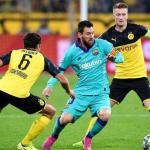 Messi durante el partido de Champions en Dortmund. / milenio.com