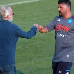 """La veleta de De Laurentiis dispara ahora a la cabeza de Gennaro Gattuso """"Foto: Soy Calcio"""""""