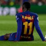 """""""Dembélé, de nuevo a la enfermería./ Foto: Getty Images"""""""