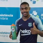 El Barcelona cierra la salida de Malcom / Twitter