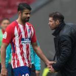 Simeone enseña la puerta de salida a Diego Costa. Foto: AP