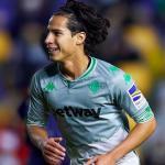 Lainez vuelve a tener opciones de salir del Betis en enero. Foto: espndeportes.espn.com