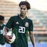 """Problemas para México con Diego Lainez y el Real Betis """"Foto: AS"""""""
