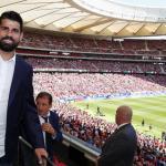 Diego Costa, con el Atlético / twitter
