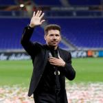 Diego Simeone, entrenador del Atlético de Madrid. Foto: BeinSports