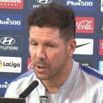 Diego Simeone, entrenador del Atlético de Madrid / Youtube.com.