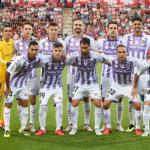 El once que salió ante el Girona (Real Valladolid)