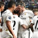 Real Madrid, celebrando un gol en 2019 / twitter